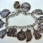Heritage State Promotional Charm Bracelets