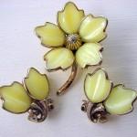 Trifari Mid Century Plastic Jewelry