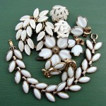 Vintage Trifari Summer White Jewelry In Excess