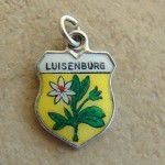 Collecting Vintage Silver and Enamel Travel Shield Charms