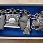 Vintage State Heritage Promotional Charm Bracelets
