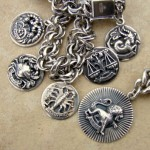 Cini Sterling Silver Vintage Charms and Jewelry