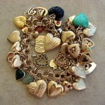 Vintage Heart Charms For Valentines Day