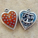 Wanda's Vintage Puffy Heart Charms – Really!