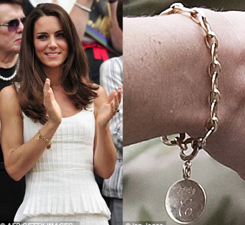 Kate Middletons Royal Charm Bracelet Vintage Charms