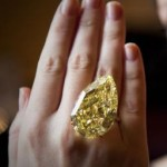 This Rare Yellow Diamond Sold For Millions Yesterday