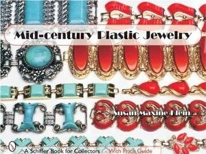 Mid Century Plastic Jewelry Book