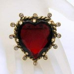 Valentines Day Heart Vintage Jewelry
