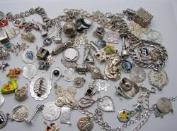 Charmcrazey silver charms