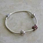 My New Christmas Pandora Charm Bracelet