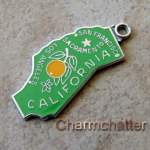 Vintage Wells State Map California Charm