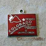 Colorado Charm Wells State Map