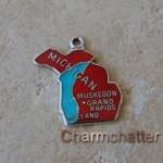 Michigan Charm Enamel Wells