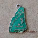 Wells New Hampshire Charm Vintage Jewelry