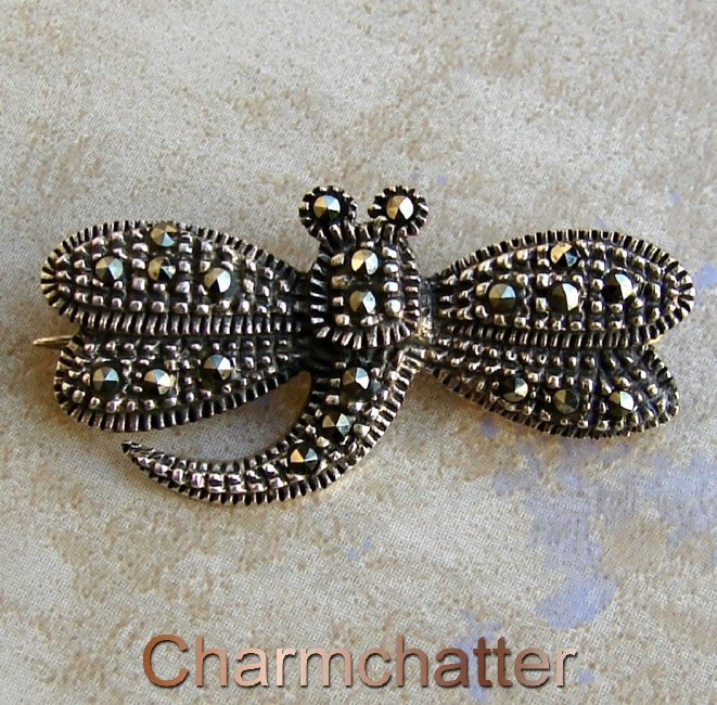 Marcasite pin