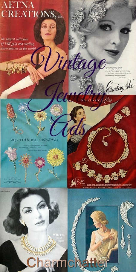 Vintage Jewelry Advertisements
