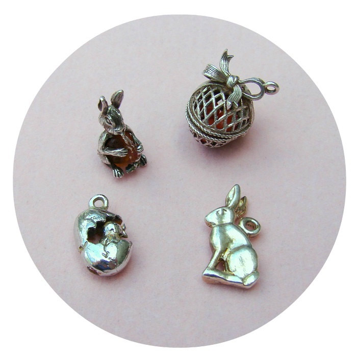 Happy Easter vintage charms