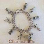 Creed and Hayward Vintage Angel Charm Bracelet