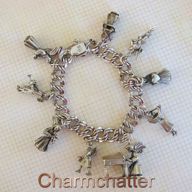 Creed Angels Vintage Charm Bracelet
